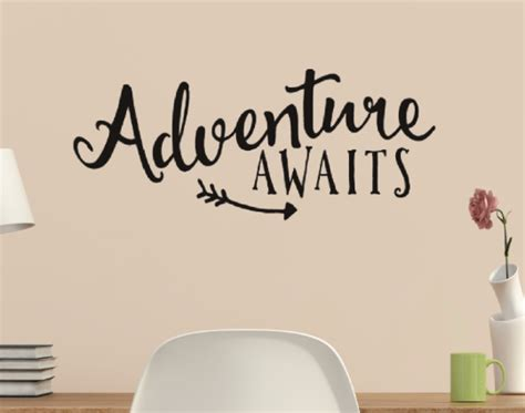 Wall Sticker Sticker Dinding Wall Decal Stiker Vynil Chandelier 01 adventure awaits with arrow vinyl wall quote sticker wall