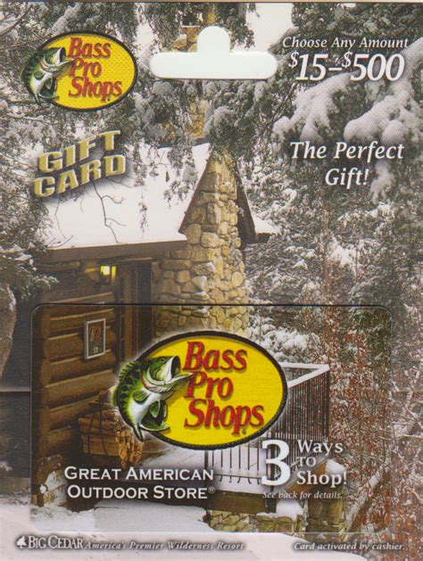 Will Bass Pro Honor Cabela S Gift Cards - collectomania new cards part 6 misc cards