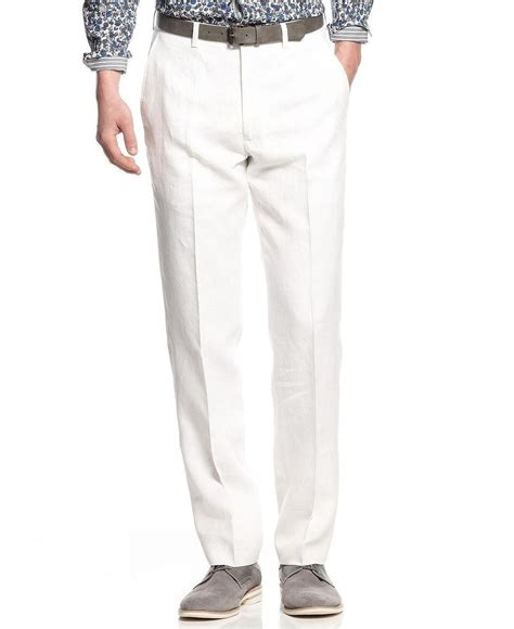 Tall White Linen Pants Pant So
