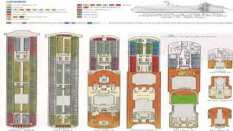 Carnival Dream Floor Plan by Carnival Dream Deck Plan Carnival Dream Itinerary Cruise