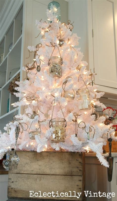 white christmas tree decorations pictures decorating with a white tree eclectically vintage