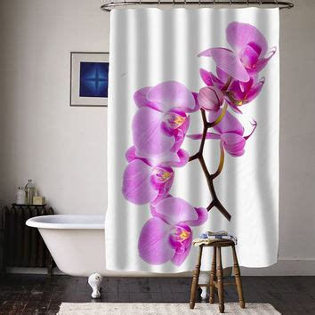 orchid curtains girl banksy balloon special custom shower from curtainasu