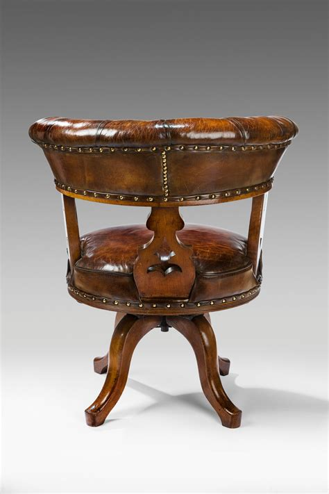oak swivel desk chair antique oak swivel desk chair richard gardner antiques