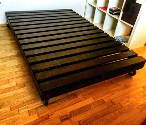 Bed Frame Pallets 10 Ideas About Pallet Bed Frames