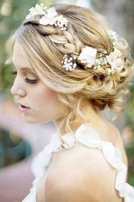 Wedding Hairstyles For Medium Length Hair With Flowers 19 gorgeous wedding hairstyles for medium hair