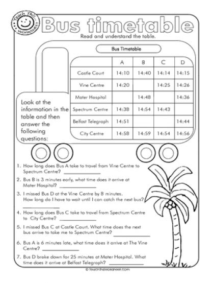 teach this worksheets create and customise your own worksheets timetable worksheets time stevessundrybooksmags free