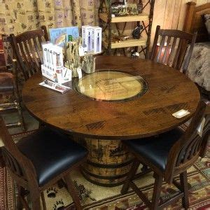 whiskey barrel kitchen table and chairs whiskey barrels ideas whiskey barrel table and chairs