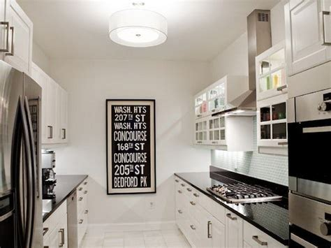 bloombety kitchen design ideas for small black white