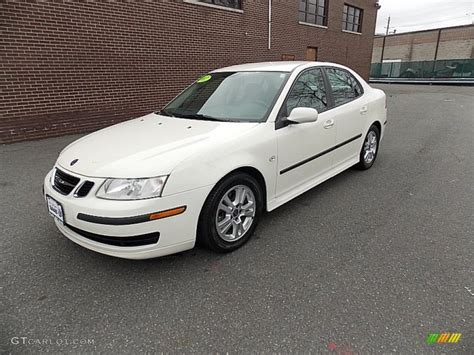 2007 polar white saab 9 3 2 0t sport sedan 78023677