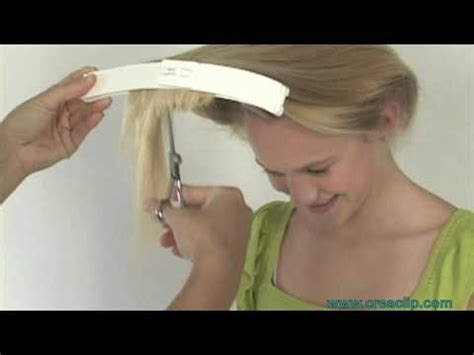 How To Use Hairstyle Tools On Tv by How To Cut Layers On Childrens Hair Tutorial Layered
