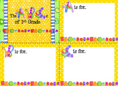 sailing through 1st grade back to school night template