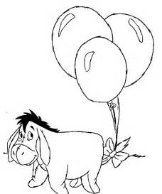 printable eeyore coloring pages coloring me