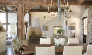 cottage home interiors rustic wood beams cottage dining room tracery interiors