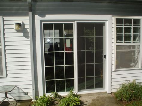 backyard sliding door sliding glass patio door replacement for a storm door