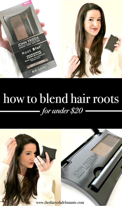 how to blend in hair roots blend hair roots at home with this affordable solution