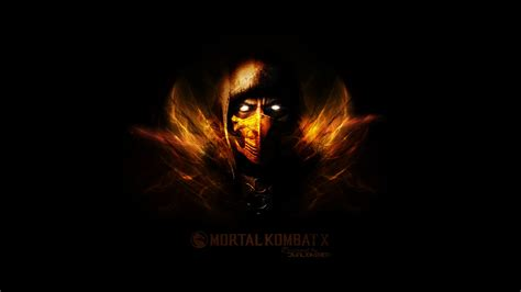 mortal kombat scorpion  wallpaper hd wallpaper