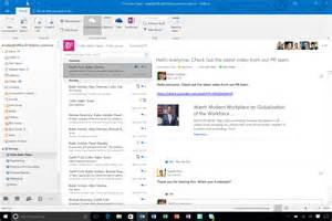 Office 365 Outlook Quickbooks What S New In Microsoft Outlook 2016