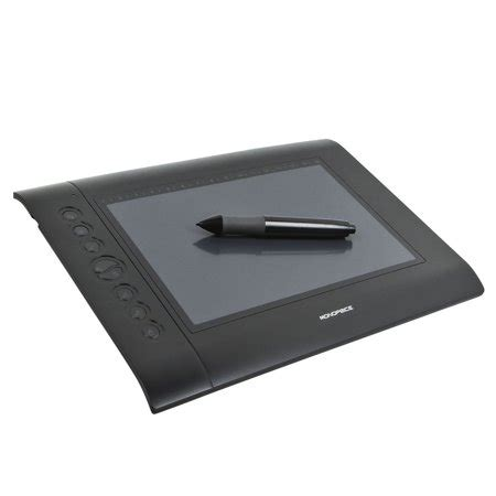 Drawing Tablet Walmart by 10 X 6 25 Inch Graphic Drawing Tablet 4000 Lpi 200 Rps
