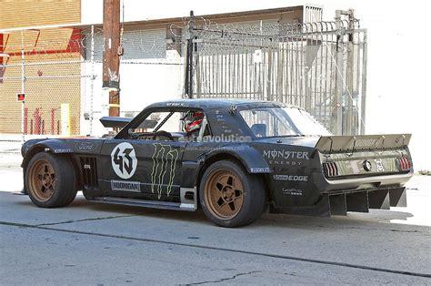 hoonigan mustang drifting ken block s gymkhana 7 car is a monstrous 845 hp awd 1965