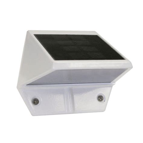 veranda wall veranda solar deck and wall light 73019077 the home depot