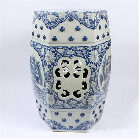 blue and white ceramic l rzaj03 blue and white ceramic garden stool painted