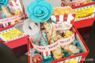 Circus carnival theme party favors diy inspired
