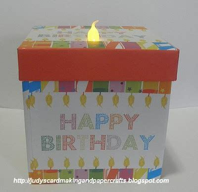 walmart battery operated candle ls judy s handmade creations light up birthday gift box idea