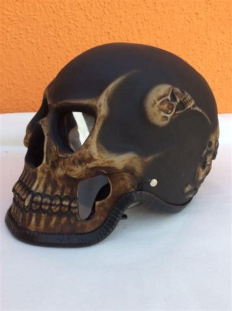 Motorradhelm Totenkopf by Chopper Biker Helm Totenkopf Motiv Skull Orig