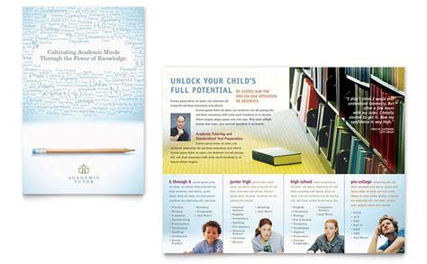 High School Brochure Template by High School Brochure Template Bbapowers Info