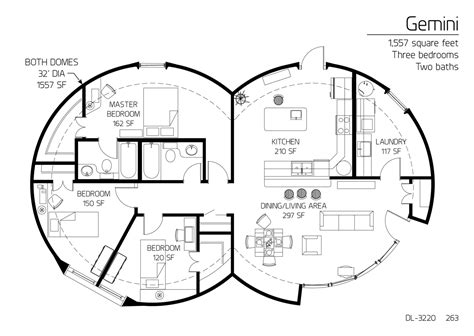 monolithic dome homes floor plans floor plan dl 3220 monolithic dome institute
