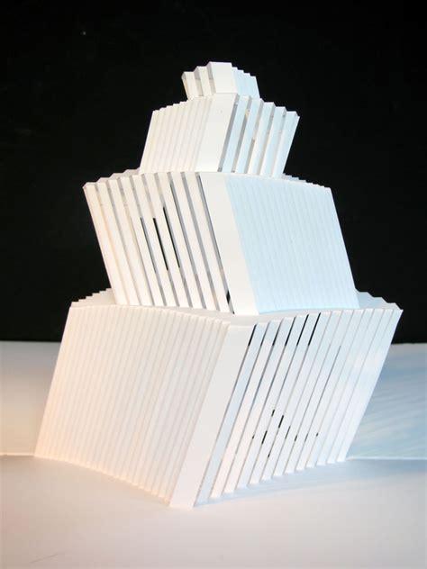 origami c origamic pop up tower kristine suhr