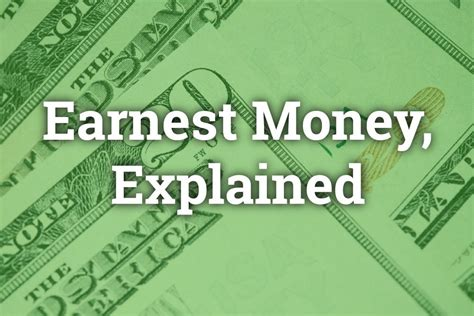 What Does Earnest Money When Buying A House 28 Images What Is Earnest Money Lackey