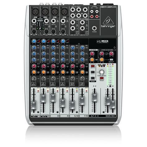 Mixer Behringer Mini behringer xenyx q1204usb compact analog usb mixer at