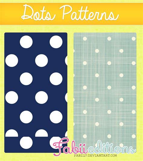 dot pattern deviantart dots patterns by fabii27 on deviantart