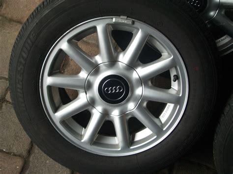 Felgen Audi 80 B4 original audi 80 b4 alufelgen mit sommerbereifung 205