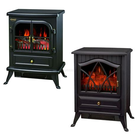 Electric Log Burner Fireplace by New 1850w Log Burning Effect Stove Electric