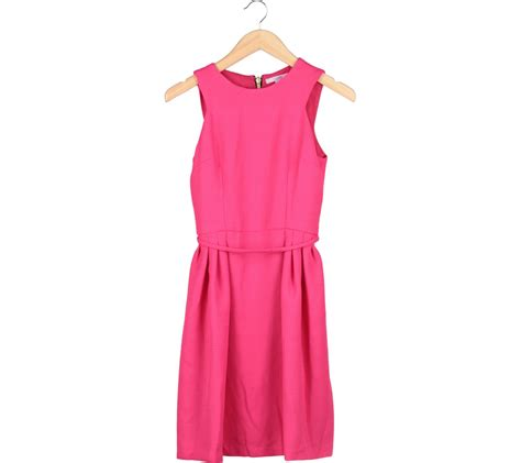 Midi Dress Amalya Murah Diskon pink sleeveless midi dress