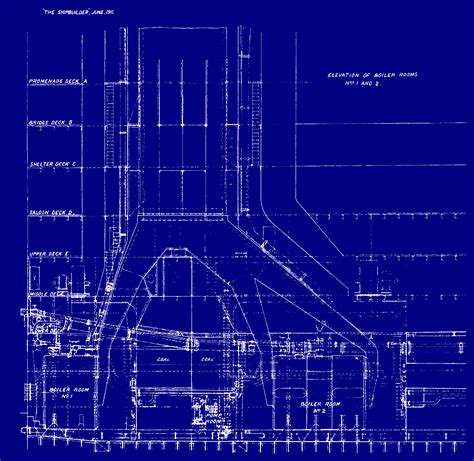 House Blueprints by All Things Titanic Blueprints
