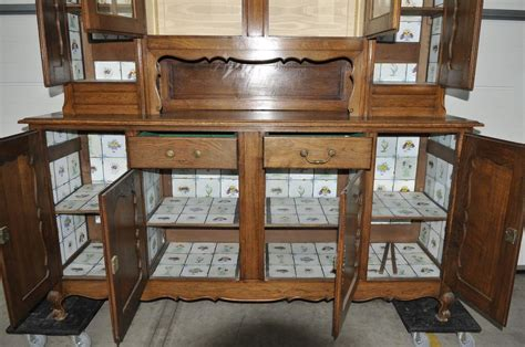 french country cabinet dining room furnishings oak
