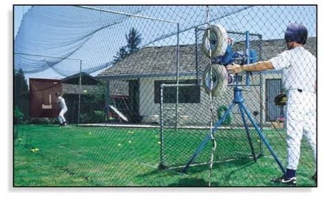 Baseball Batting Cages For Backyard by Backyard Batting Cages Backyard Softball Batting Cage