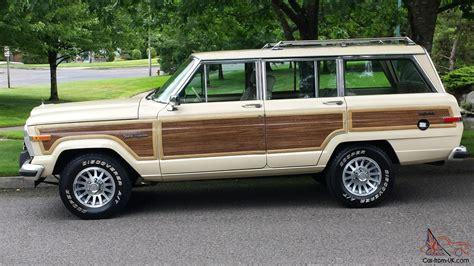 1989 jeep grand wagoneer 1989 jeep grand wagoneer base sport utility 4 door 5 9l