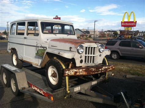 jeep willys wagon for 1961 willys jeep panel wagon truck 4 215 4 for sale