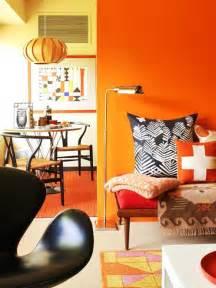 orange interior 2014 fashion color trends meet interior color trends