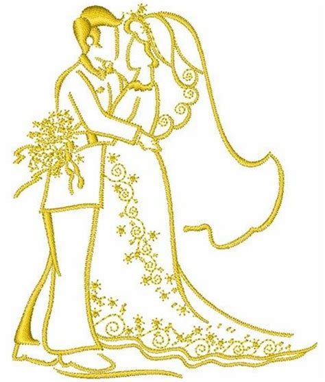 Embroidery Design Wedding | wedding couple embroidery design embroidery pinterest