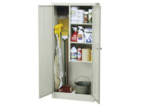 Cleaning Supply Cabinet by Janitorial Supply Closet 30 Quot Wx15 Quot Dx66 Quot H Metal Storage