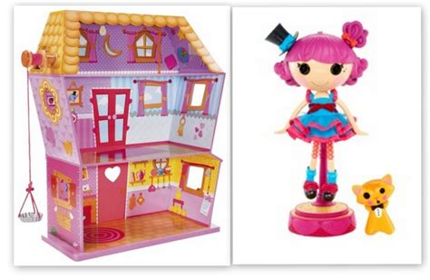 lalaloopsy dolls house lalaloopsy sew magical house plus a free silly hair star doll harmony b sharp 149