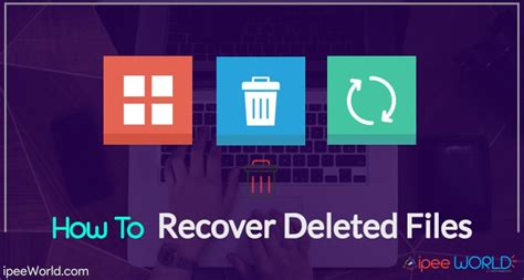How To Recover A by Recover Deleted Files Folders From Computer Smartphone