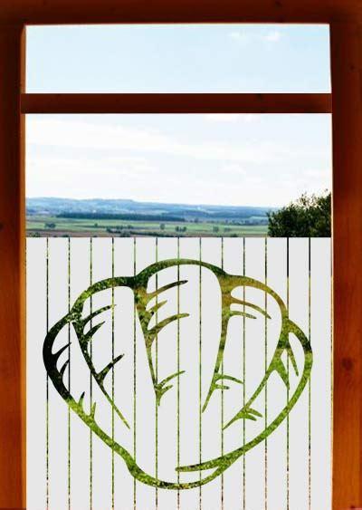 Sichtschutzfolie Badezimmerfenster by Sichtschutzfolie Badezimmerfenster Muschel
