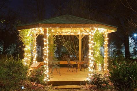 Outdoor Gazebo Lights Gazebo Lights Jpg Photo Gallery Beautiful Historic Roswell Ga Location For Weddings
