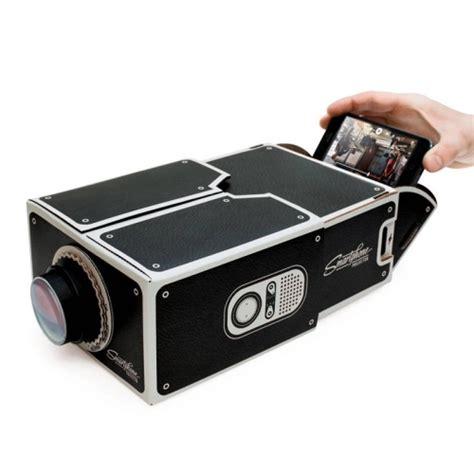 projector mobile phone cardboard smartphone projector diy mobile phone